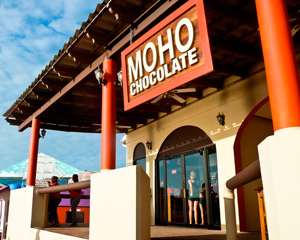 Moho Chocolate Factory Store in Belize City, Belize. OPEN NOW!
